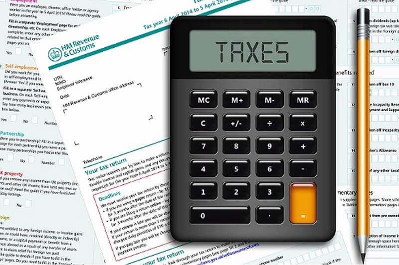 calculator taxes