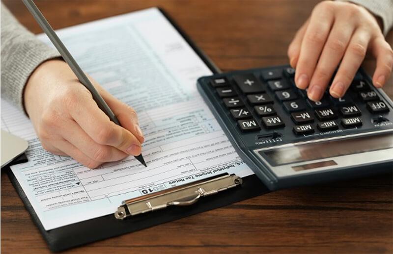 calcuating taxes