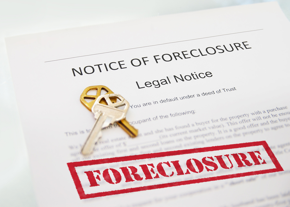 legal notice of foreclosure