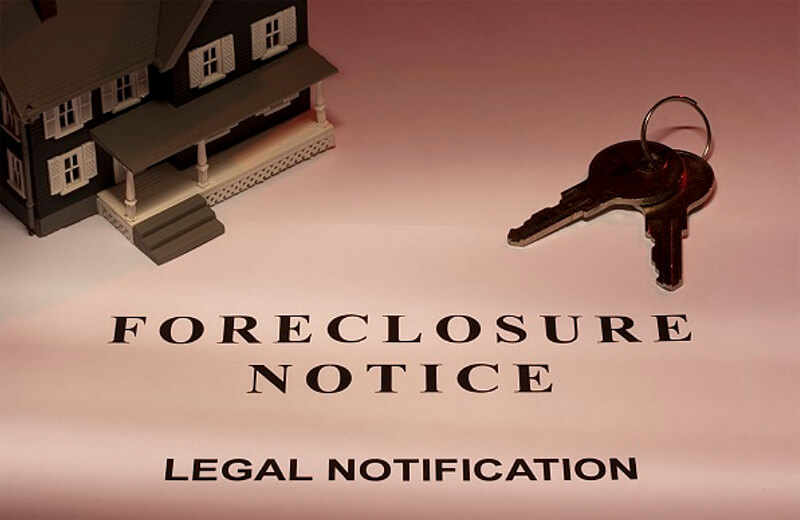 foreclosure notice legal notification
