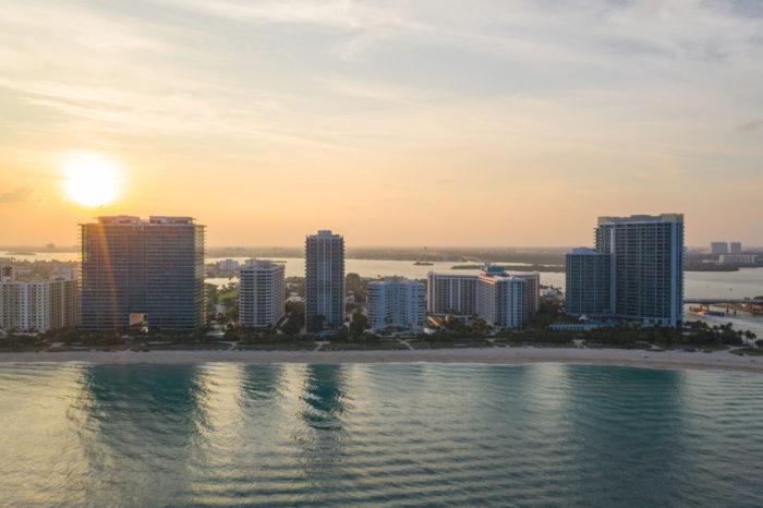 Bal Harbour Skyline Photo