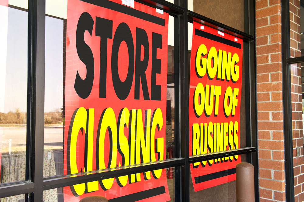 Florida business closed due to foreclosure